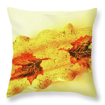Throw Pillow featuring the photograph Mini Long Bowl by Itzhak Richter