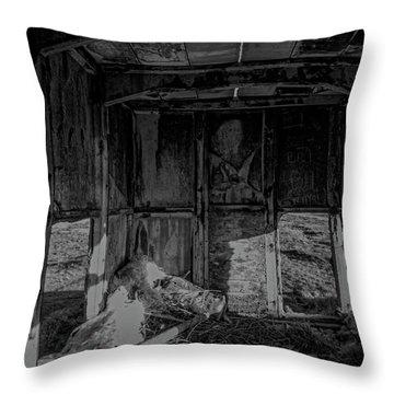 Mini Urbex Throw Pillow