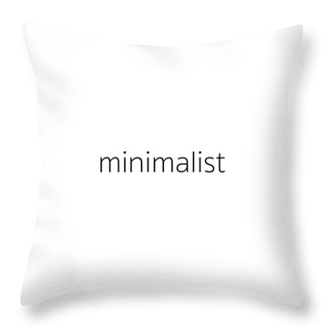 Minimalist Throw Pillow