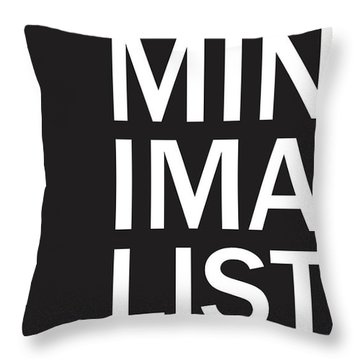 Minimalist Poster Throw Pillow