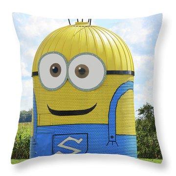 Minion Silo Throw Pillow