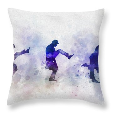 Ministry Of Silly Walks Throw Pillow
