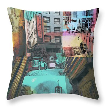 Minneapolis City Life Throw Pillow