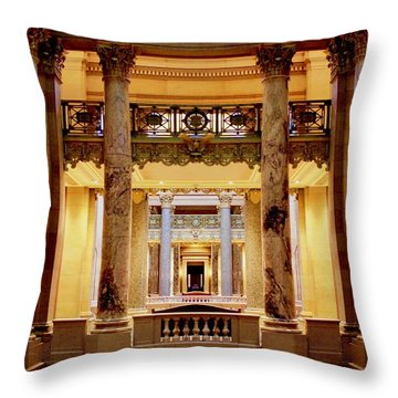 Minnesota Capitol Supreme Court Throw Pillow