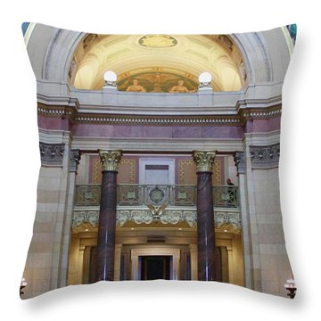 Minnesota House  Throw Pillow