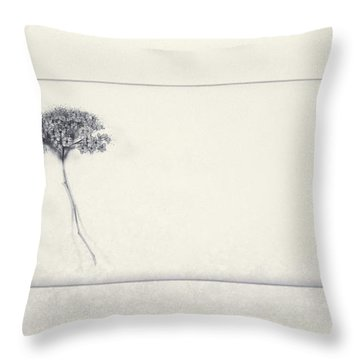 Miracle Of A Single Flower Throw Pillow