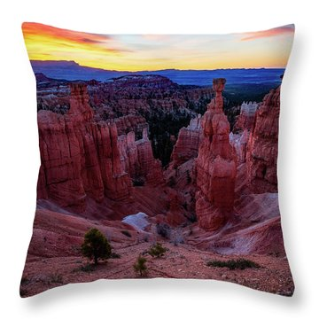 Thor's Light Throw Pillow