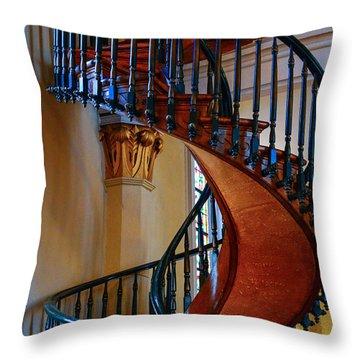 Miraculous Staircase Throw Pillow