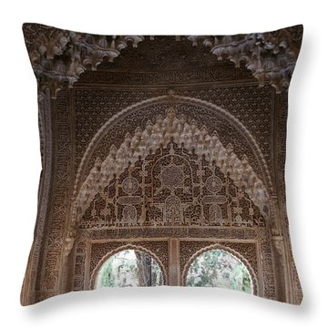 Mirador De Daraxa Throw Pillow