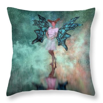 Mirage  Throw Pillow by Betsy Knapp