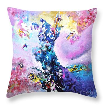Mirage Harmony Throw Pillow