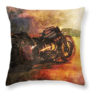 Mirage Throw Pillow by Jeremy Martinson