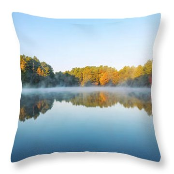 Mirror Lake Throw Pillow