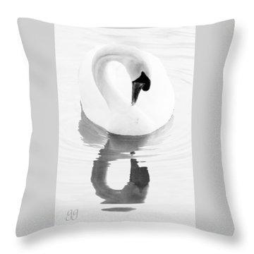Mirror, Mirror Throw Pillow