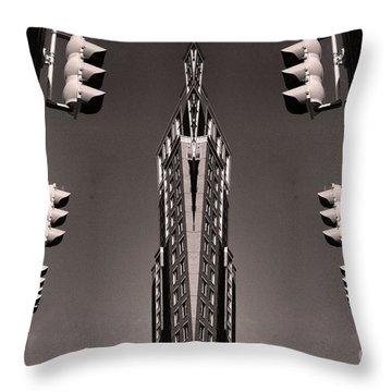 Mirror Mirror Throw Pillow by John S