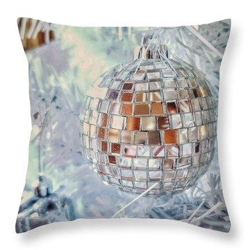 Mirror Tree Ornament Throw Pillow
