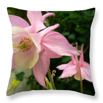Mirrored Image Throw Pillow by Pamela Patch