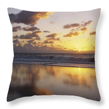 Mirrored Mexico Sunset Throw Pillow by Bill Schildge - Printscapes
