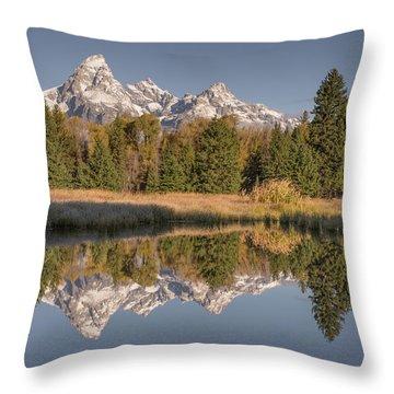 Mirrororrim Throw Pillow