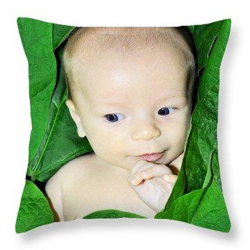 Mischief Maker Throw Pillow