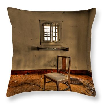 Misery Needs Company Throw Pillow