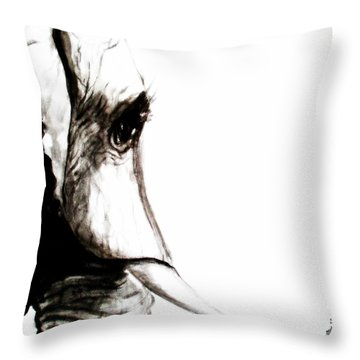 Miss Ellie Throw Pillow