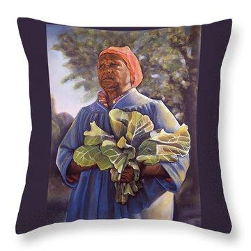 Gardening Throw Pillows