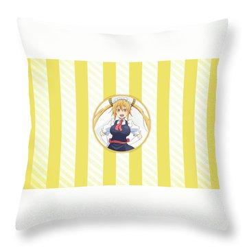 Miss Kobayashi's Dragon Maid Throw Pillow