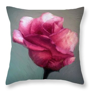 Miss Melanie Throw Pillow