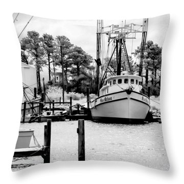 Miss Melissa Throw Pillow