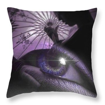 Miss Saigon Throw Pillow by ISAW Gallery
