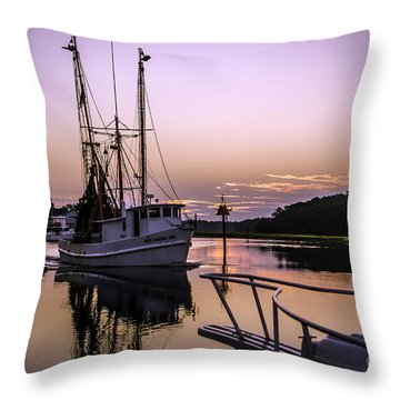 Miss Sandra Gail Throw Pillow