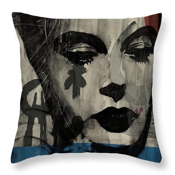 U2 Throw Pillows