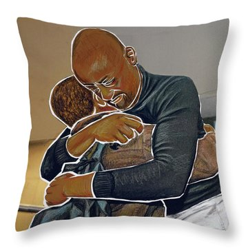 Missed You Boy Throw Pillow