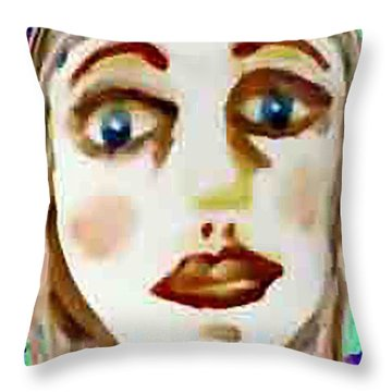 Missing Mirror Throw Pillow
