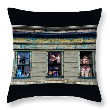 Throw Pillow featuring the photograph Missing by Paul Wear