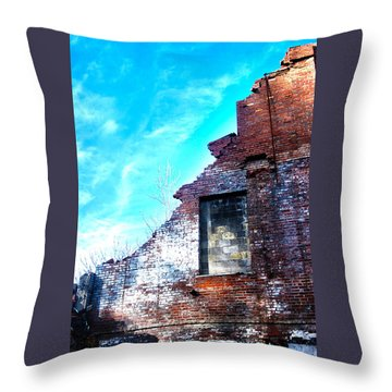 Missing Wall Throw Pillow