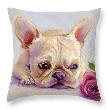 Missing You Throw Pillow by Susan Jenkins