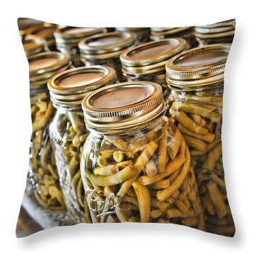 Mission Accomplished Throw Pillow by Cricket Hackmann