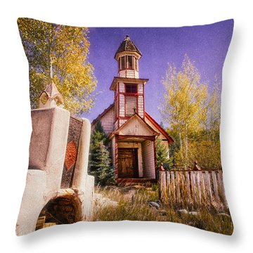 Throw Pillow featuring the photograph Mission by Daniel George