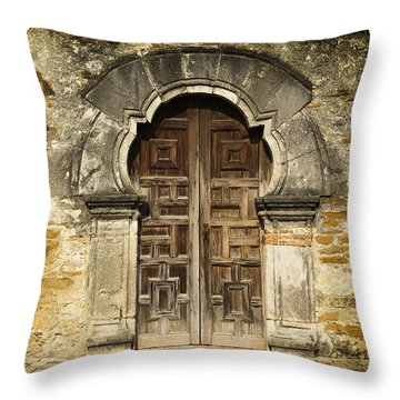Spanish Missions Throw Pillows