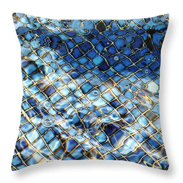 Mission San Buenaventura Mosaic Throw Pillow