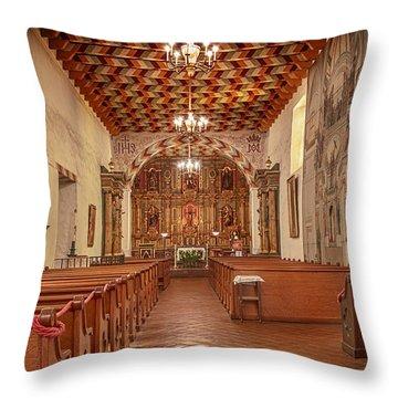 Mission San Francisco De Asis Interior Throw Pillow