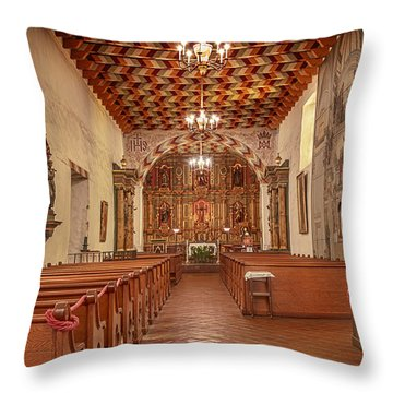 Mission San Francisco De Asis Interior Throw Pillow