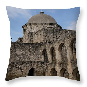 Mission San Jose - 1218 Throw Pillow