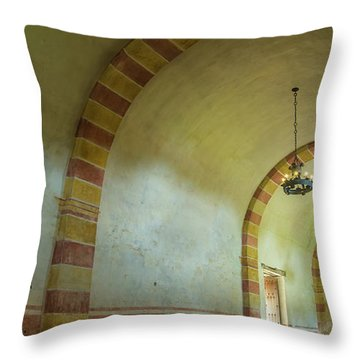 The Granary At Mission San Jose  Throw Pillow