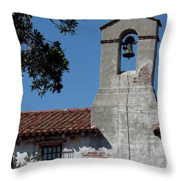 Mission School Throw Pillow