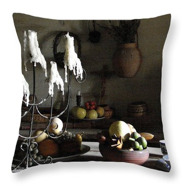 Mission Still Life 1 Throw Pillow
