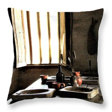 Mission Still Life 2 Throw Pillow