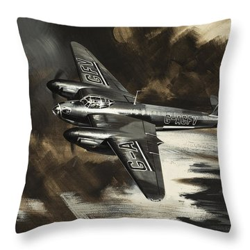 Mission To Danger Throw Pillow